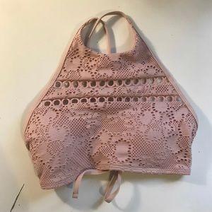 Aerie Pink Bikini Top
